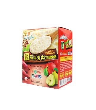 穀兒珍寶-蘋果香梨牛奶穀物粥